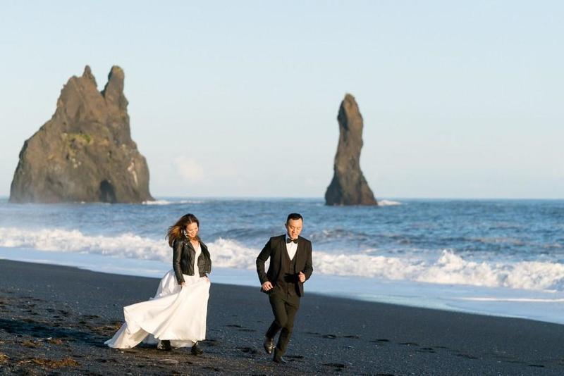 تعتبر آيسلندا المكان المثاليلشهر عسل طويل