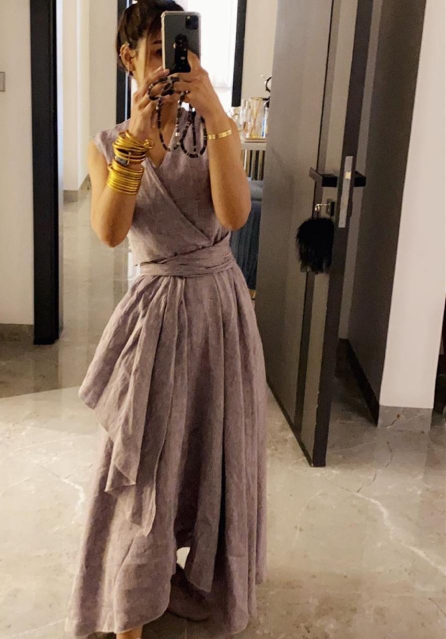 تنسيقات الفساتين والجلابيات