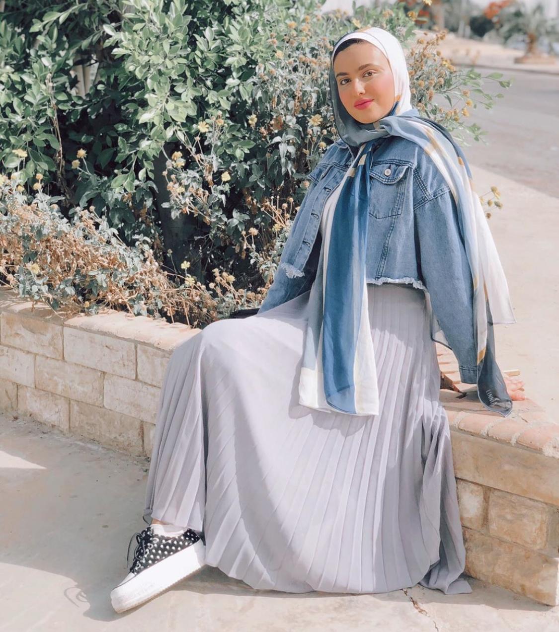تنسيقات التنورة من مريم حسن