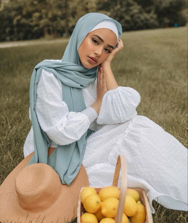لفات للحجاب الخفيف