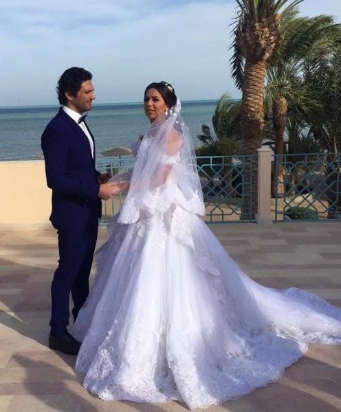 فستان ايمي سمير غانم