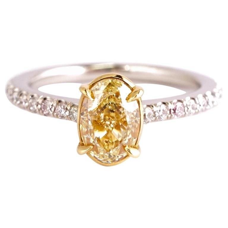 الماس الأصفر من أجمل واندر الاحجار