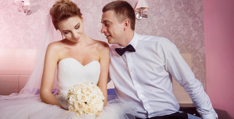 ليلة الدخلة تعتبر ليلة صعبة على العروس