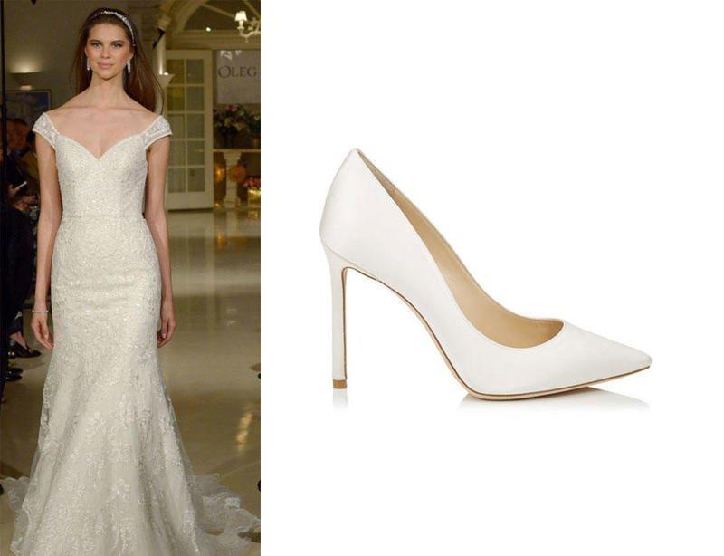 اختيار حذاء العروس