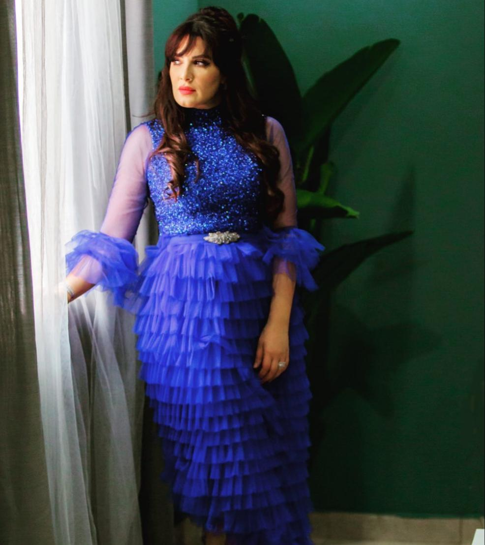 خيارات الفساتين الزرقاء