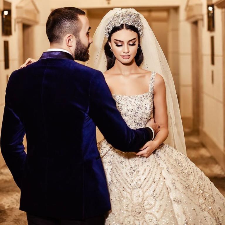 فستان زفاف مريم ناظم