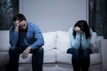 اكتئاب بعد الزفاف