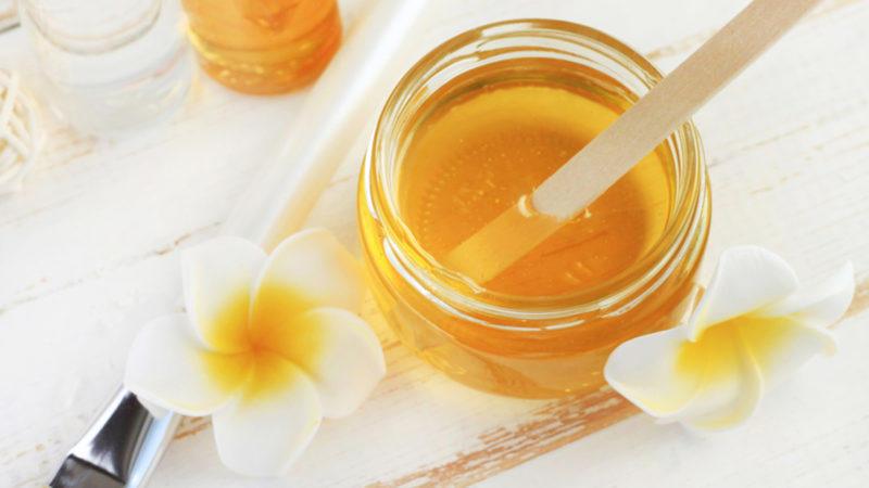خلطات العسل للشعر الجاف