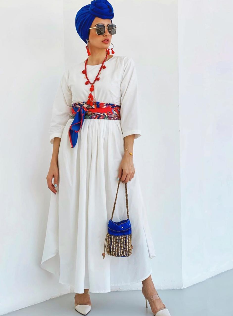 إطلالات الفساتين البوهيمية