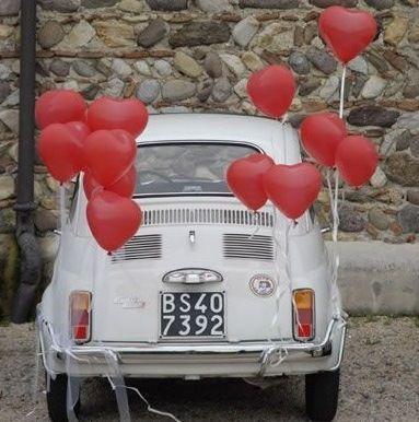 تزيين سيارة العروس