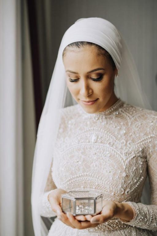 مكياج عروس محجبة