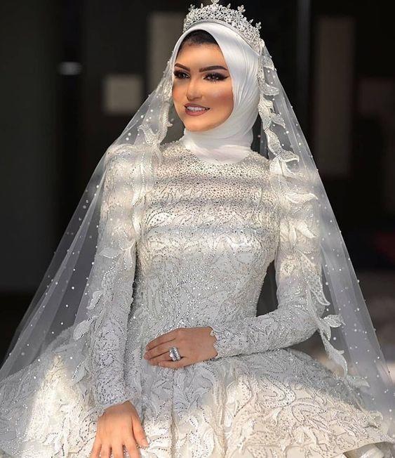 طرحات زفاف عصرية للمحجبات مجلة سيدتي