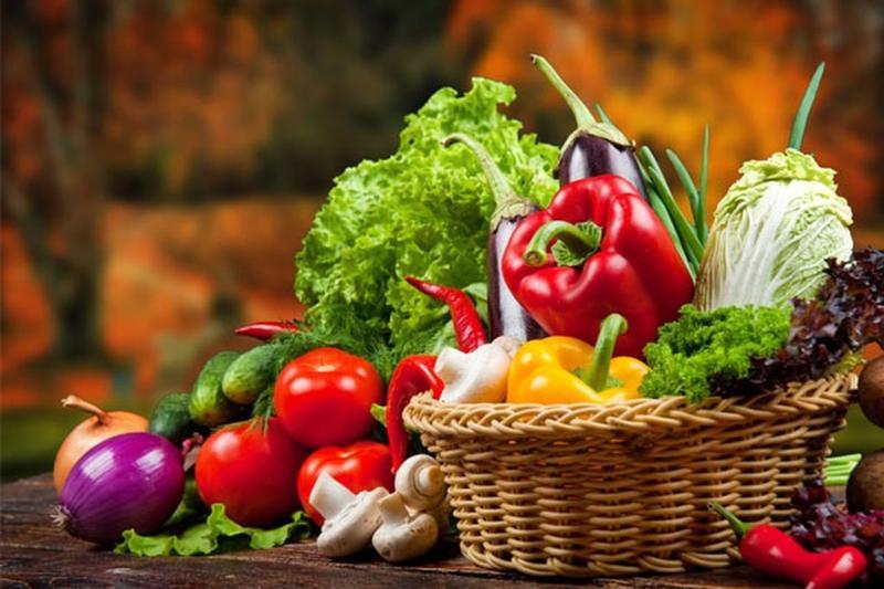 تناولي الخضراوات