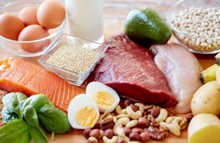 تناولي البروتينات