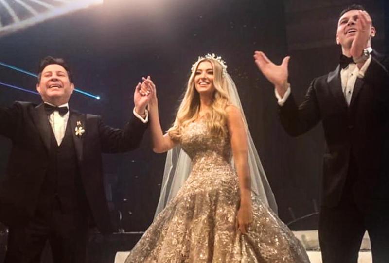 زفاف ابن هاني شاكر