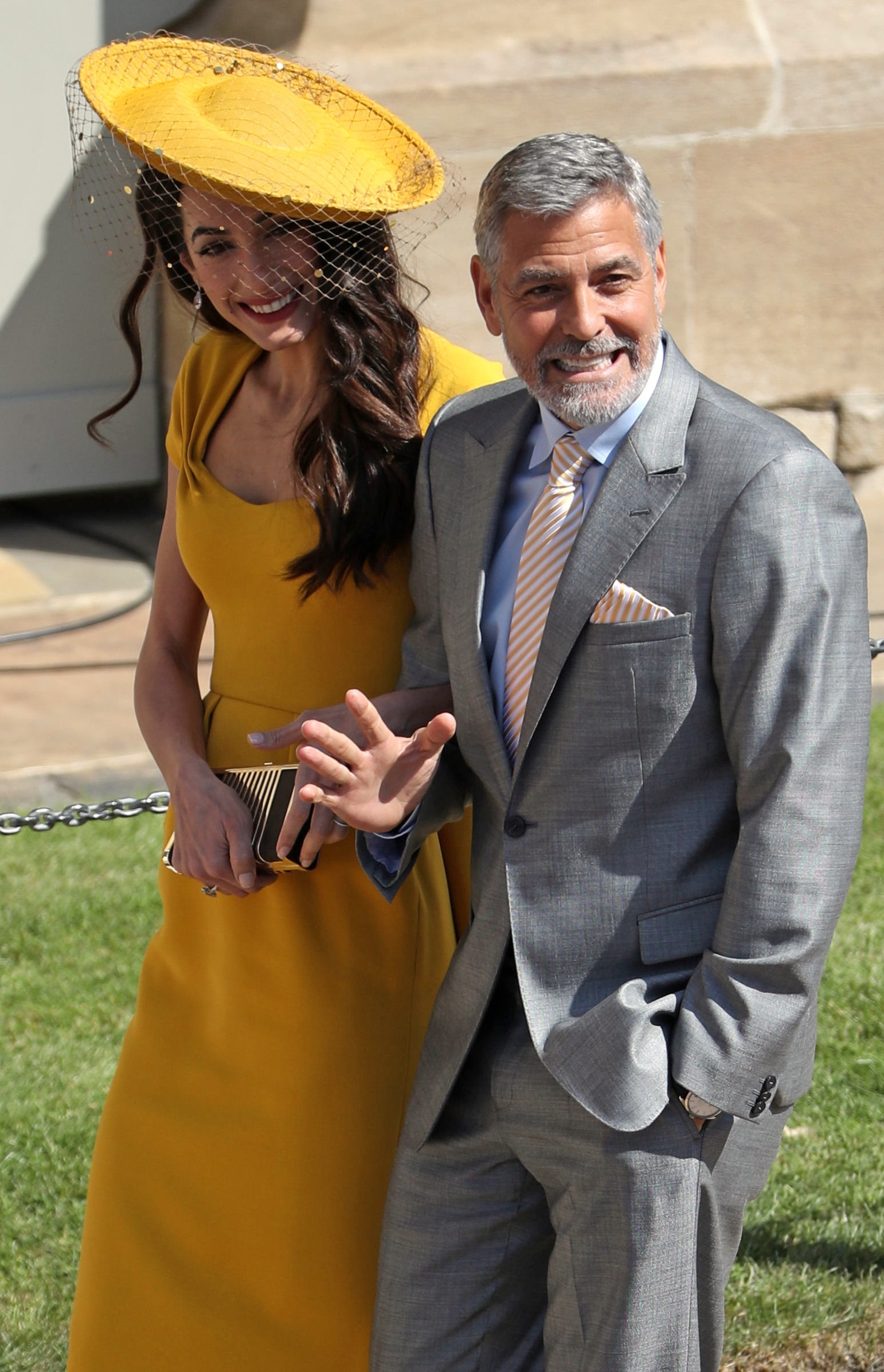 جورج وأمل كلوني يتبرعان دعماً للبنان