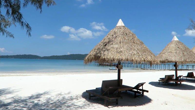 الجزيرة المفضلة لدى المشاهير في كمبوديا