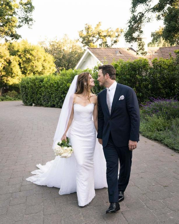 كريس برات وعروسه