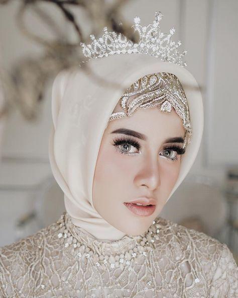 مكياج عرايس فخم للمحجبات