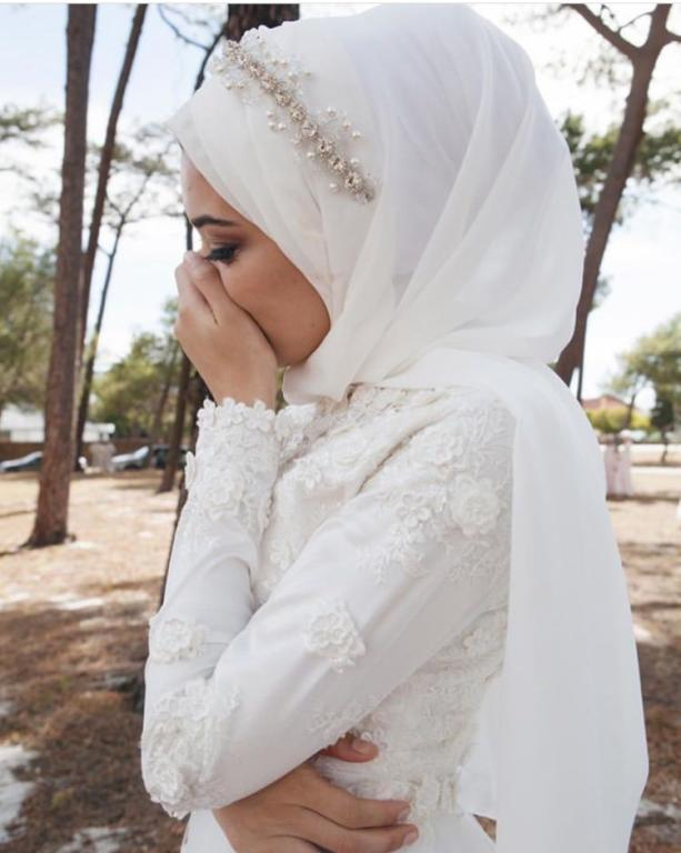 اكسسوارات العروس المحجبة