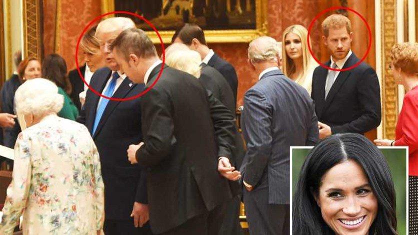 الأمير هاري تجاهل ترامب بسبب ميغان