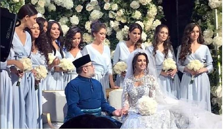 زفاف ولي عهد ماليزيا