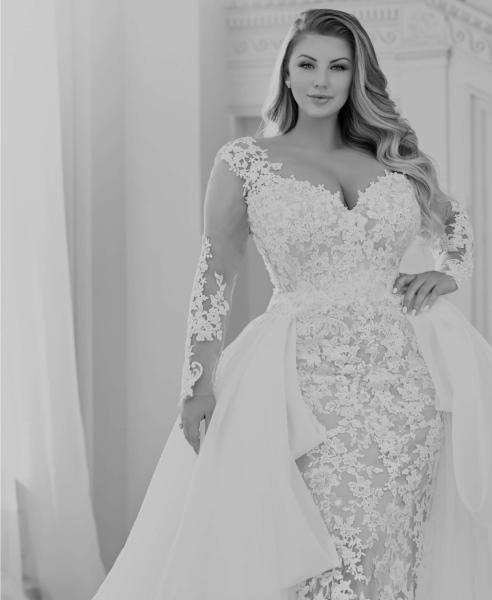 فساتين زفاف للعروس الممتلئة