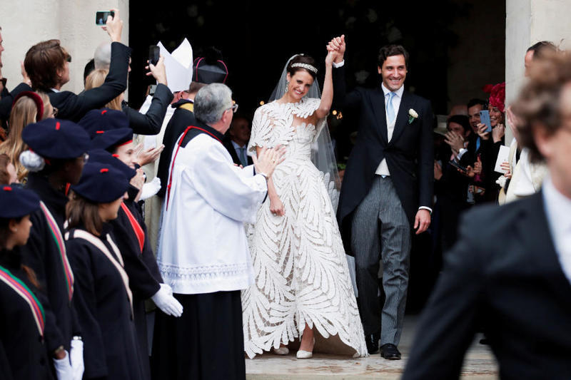 زفاف حفيد نابليون بونابرت