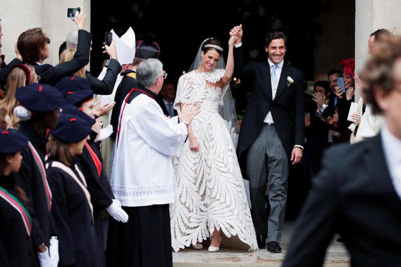 زفاف حفيد بونابرت
