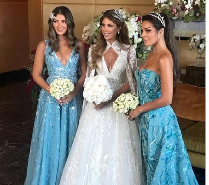 زفاف صديقة نادين نجيم