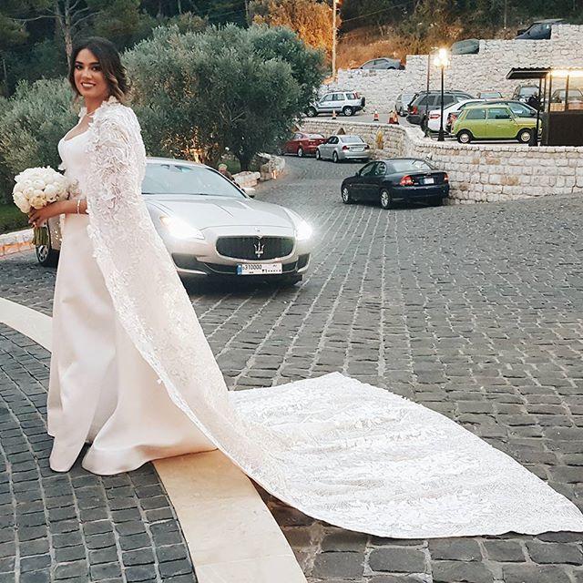 زفاف نادين ويلسون نجيم