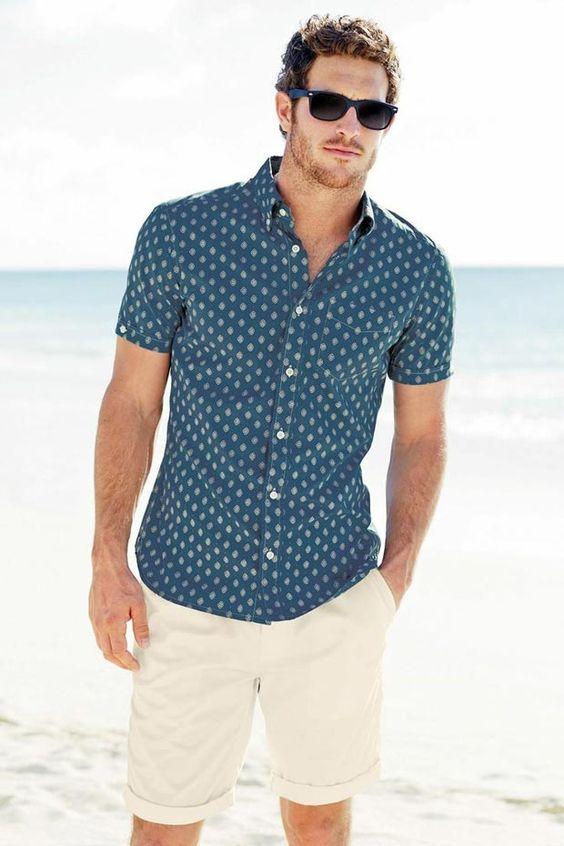 قميص لإطلالة صيفية على البحر