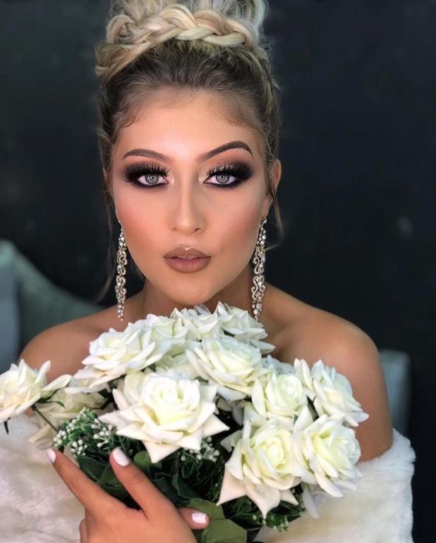 مكياج عروس سموكي مميز