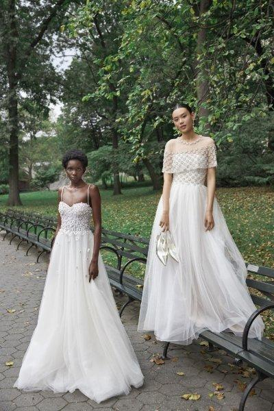 فساتين زفاف لعروس الخريف