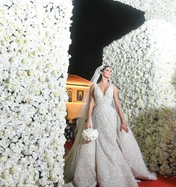 العروس ريما فقيه