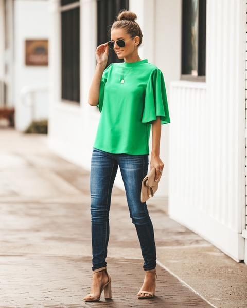 اللون الأخضر