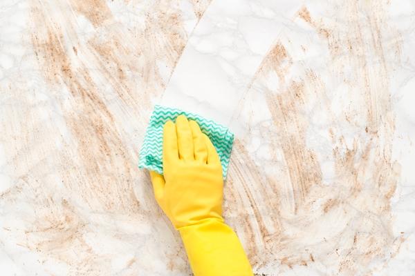تنظيف الرخام