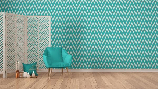 تنظيف ورق الجدران