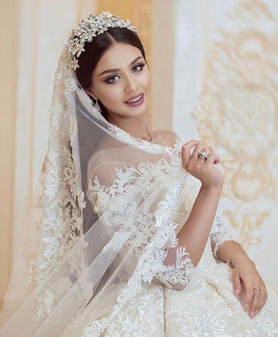 تسريحة العروس
