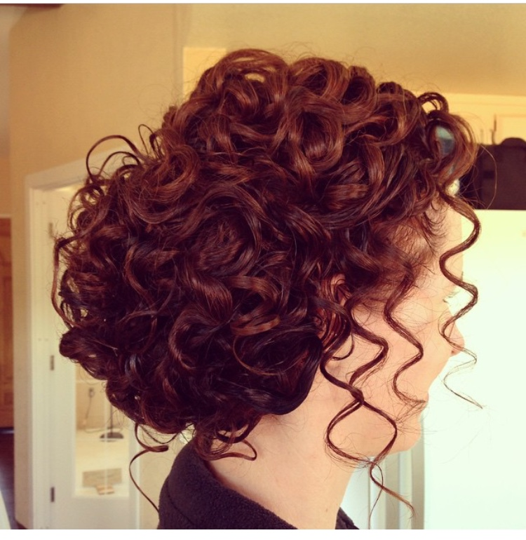 تسريحة شعر كيرلي