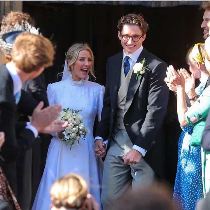 زفاف إيلي غولدينغ