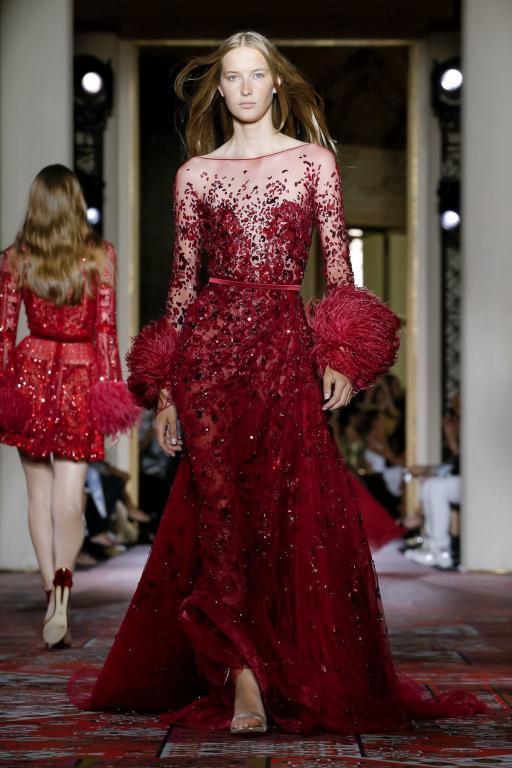 فستان مثير من زهير مراد