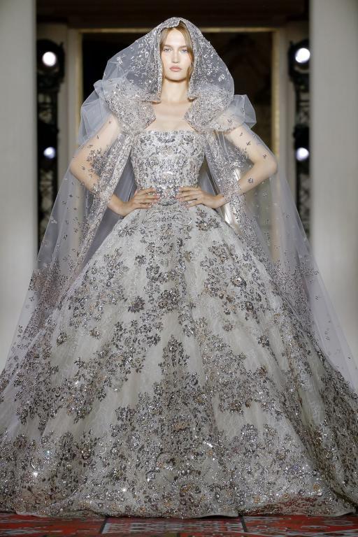 فستان فخم من زهير مراد
