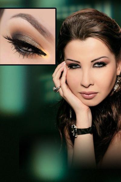 مكياج عيون لبناني