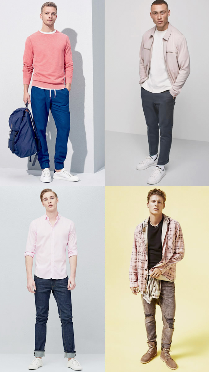 ملابس بألوان جريئة