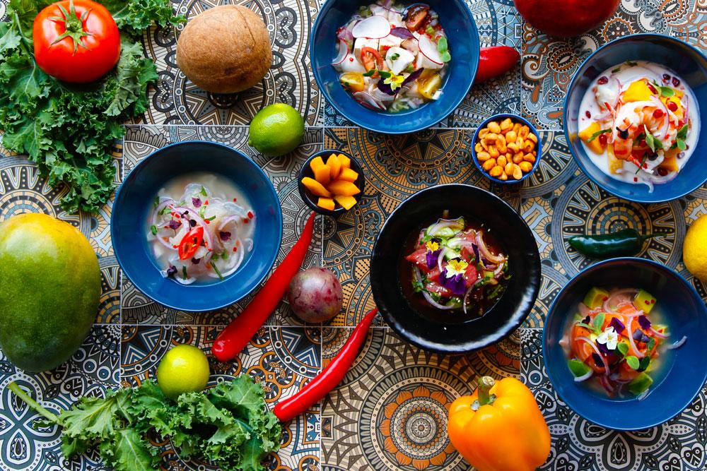 الأطباق في INKA