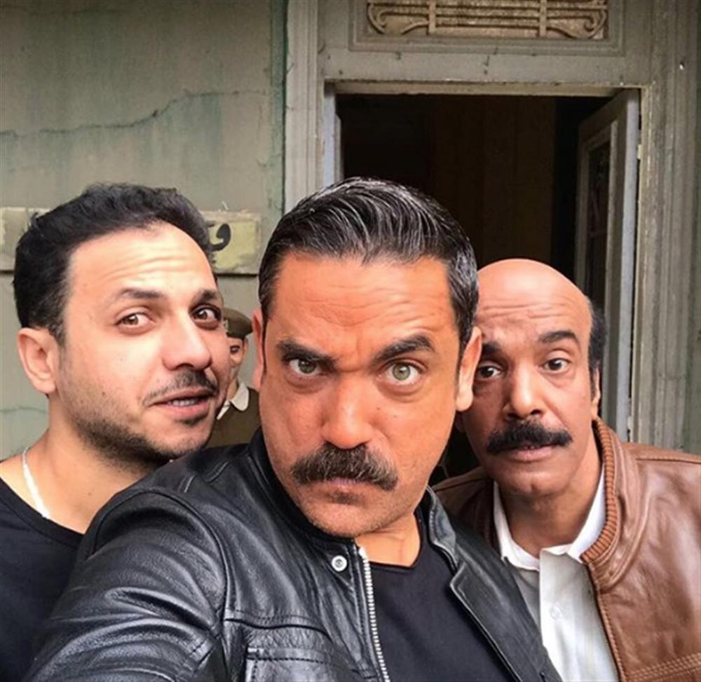 أمير كرارة والمخرج بيتر ميمي
