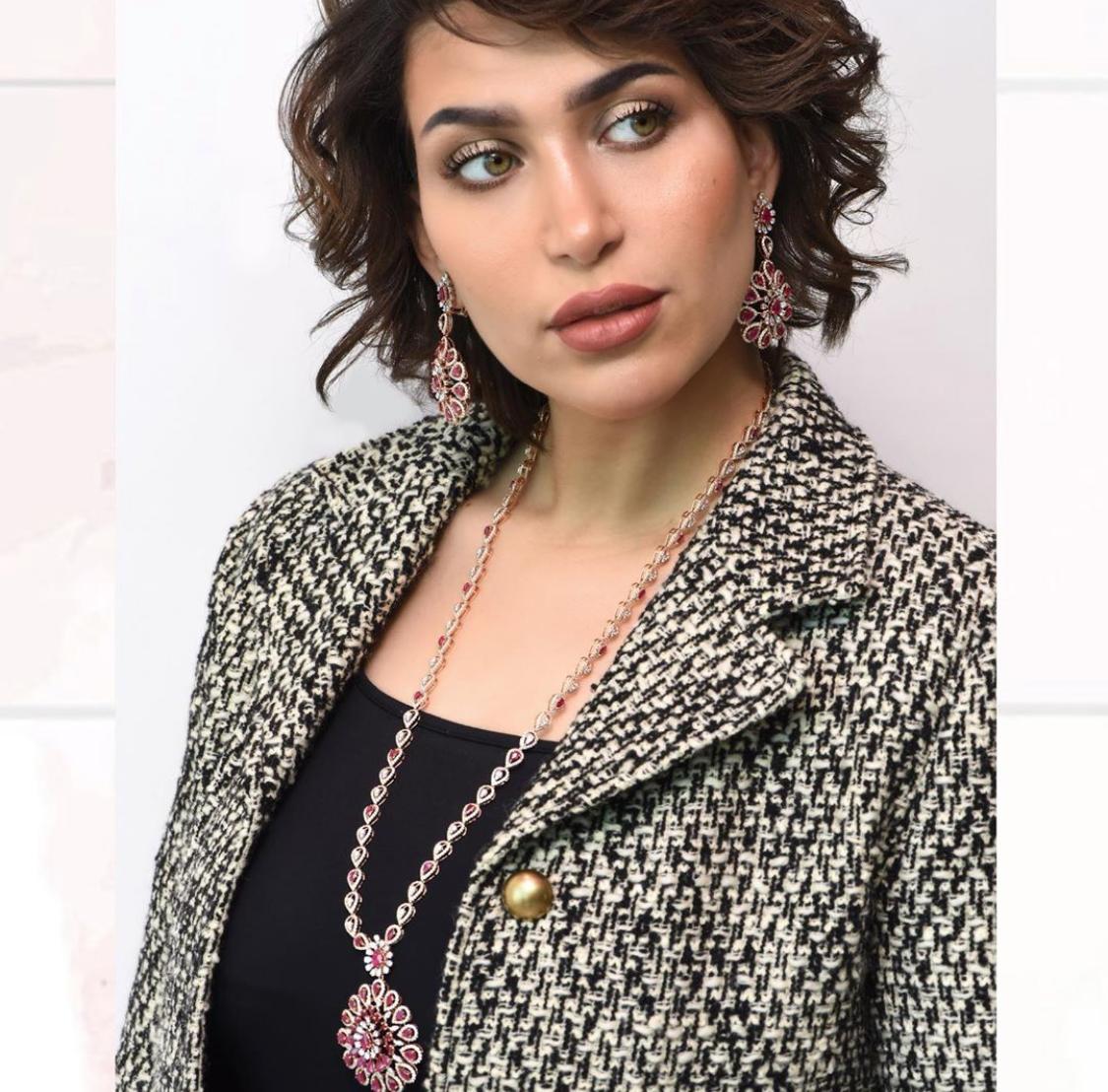 مجوهرات فضية من الدكتورة خلود