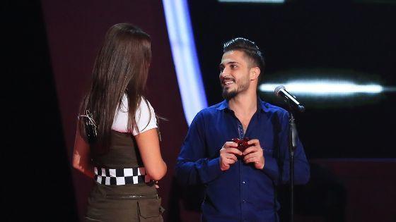 أحمد الحلاق وإليسا
