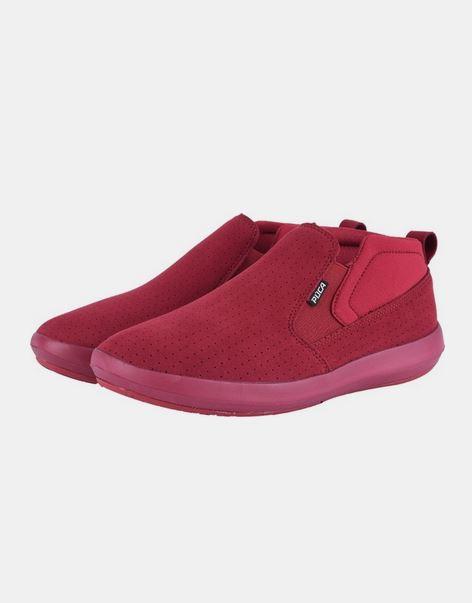حذاء رياضي باللون الأحمر للرجال من بوكا